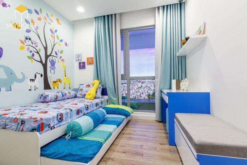Mẫu thiết kế nội thất căn hộ 115m2 - View 8