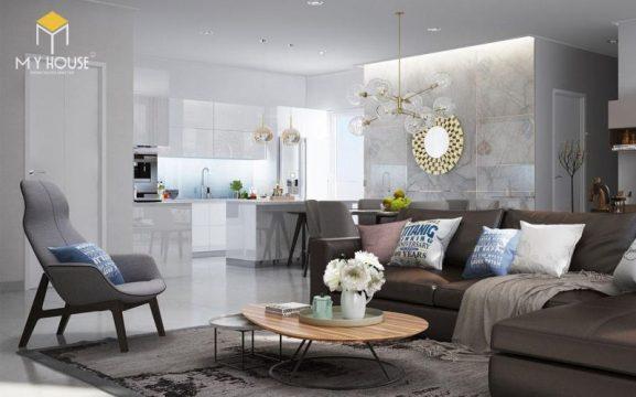 Thiết kế nội thất chung cư Ngoại Giao Đoàn 13