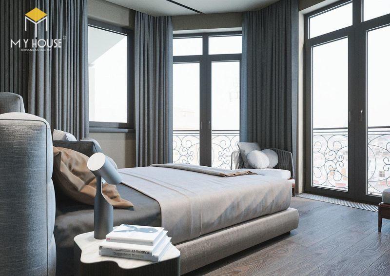 Mẫu thiết kế nội thất căn hộ 150m2 - View 4