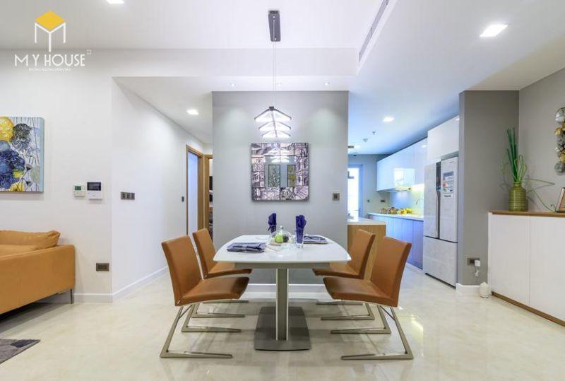 Mẫu thiết kế nội thất căn hộ 115m2 - View 2