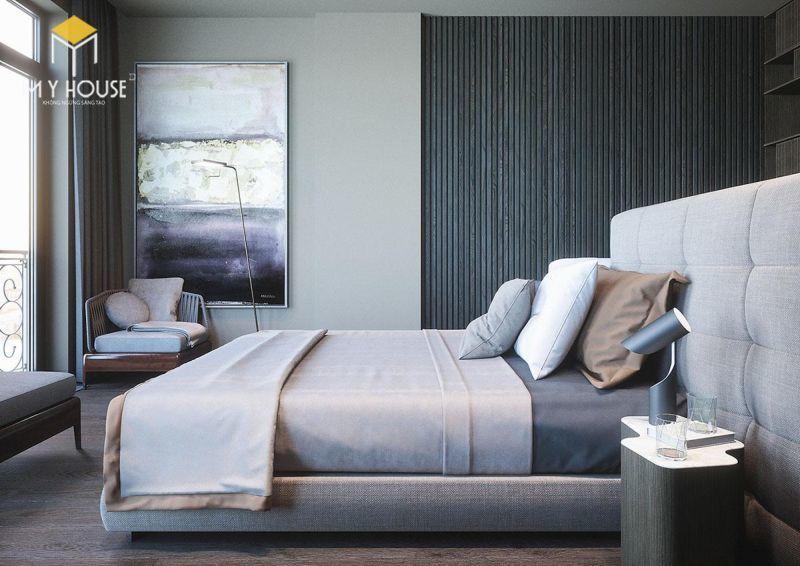Mẫu thiết kế nội thất căn hộ 145m2 - View 4