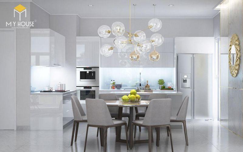 Mẫu thiết kế nội thất căn hộ 145m2 - View 2