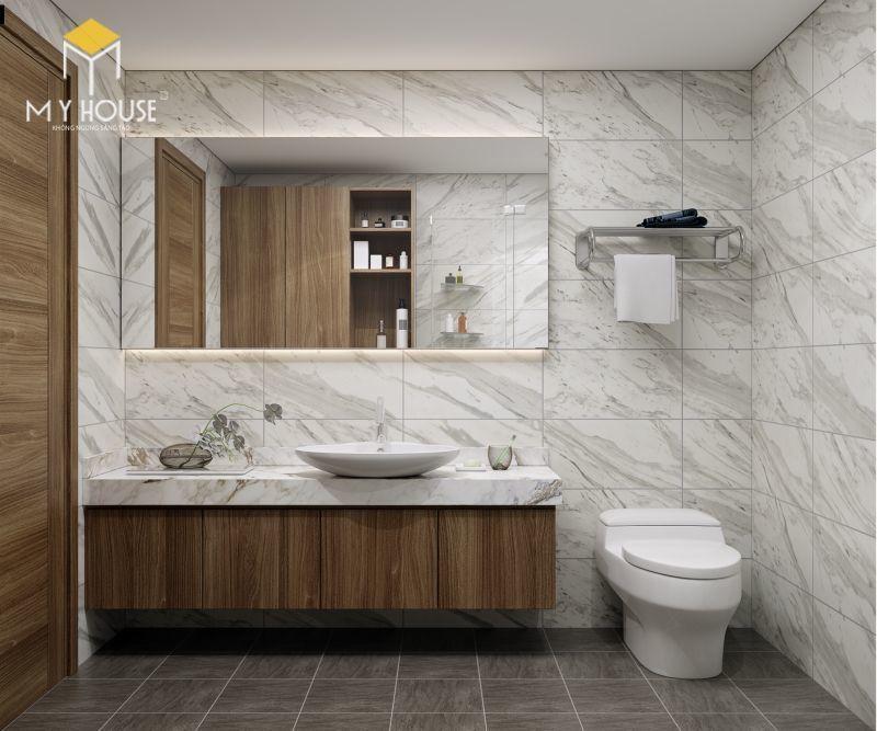 Mẫu thiết kế nội thất căn hộ 100m2 - View 8
