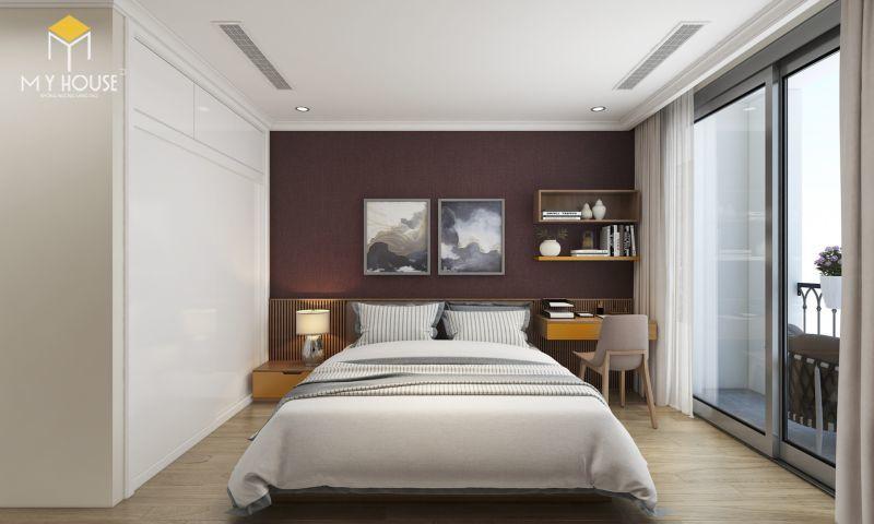 Mẫu thiết kế nội thất căn hộ 100m2 - View 5