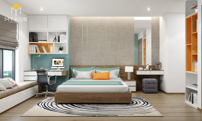 Mẫu thiết kế nội thất căn hộ 100m2 - View 6