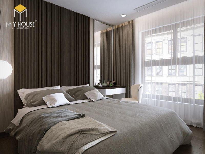 Mẫu thiết kế nội thất căn hộ 145m2 - View 5