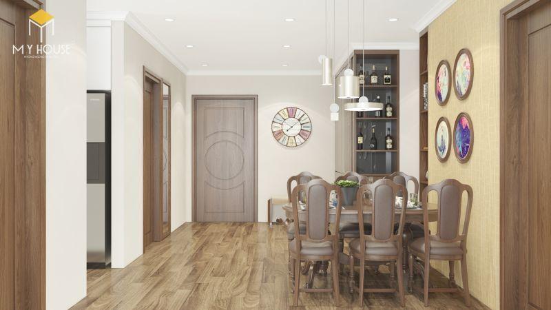 Mẫu thiết kế nội thất căn hộ 100m2 - View 3