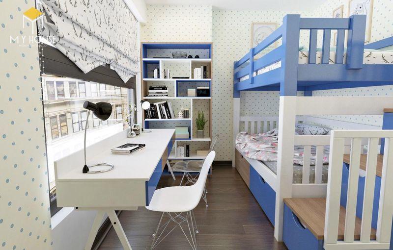 Mẫu thiết kế nội thất căn hộ 145m2 - View 6