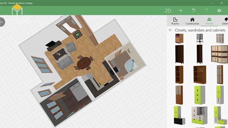 Phần mềm Autodesk Homestyler