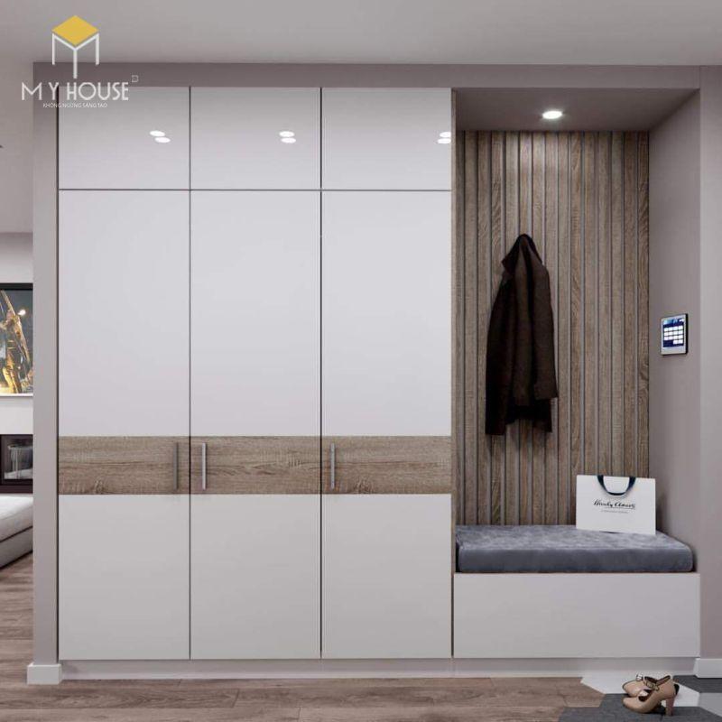 Tủ thiết kế với tông màu hiện đại sang trọng - Mẫu 7