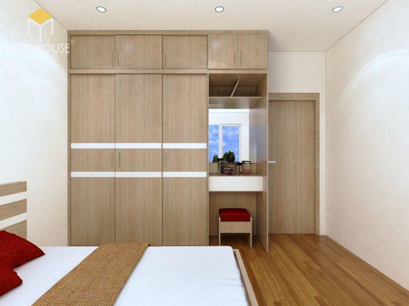 Tủ thiết kế với tông màu hiện đại sang trọng - Mẫu 10