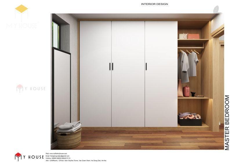 Tủ thiết kế với tông màu hiện đại sang trọng - Mẫu 11