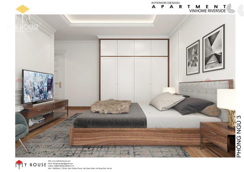 Tủ thiết kế với tông màu hiện đại sang trọng - Mẫu 12