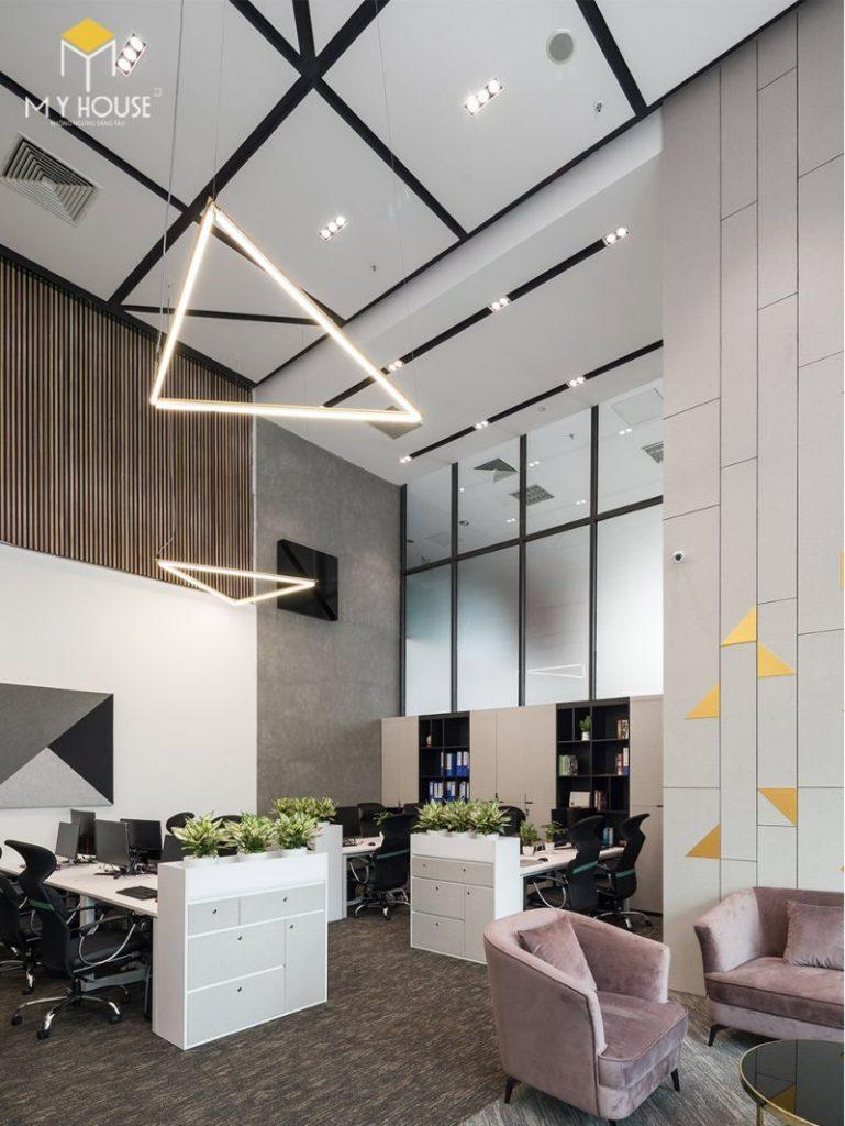 Thiết kế nội thất văn phòng mở - View 3