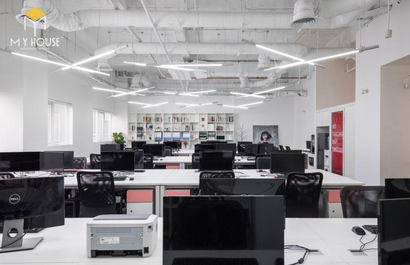 Thiết kế nội thất văn phòng phong cách mở - View 2