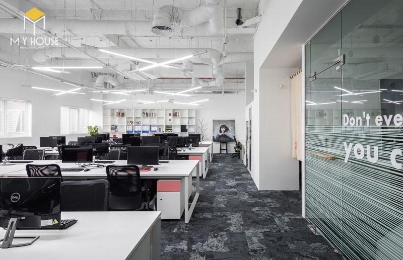 Thiết kế nội thất văn phòng phong cách mở - View 3