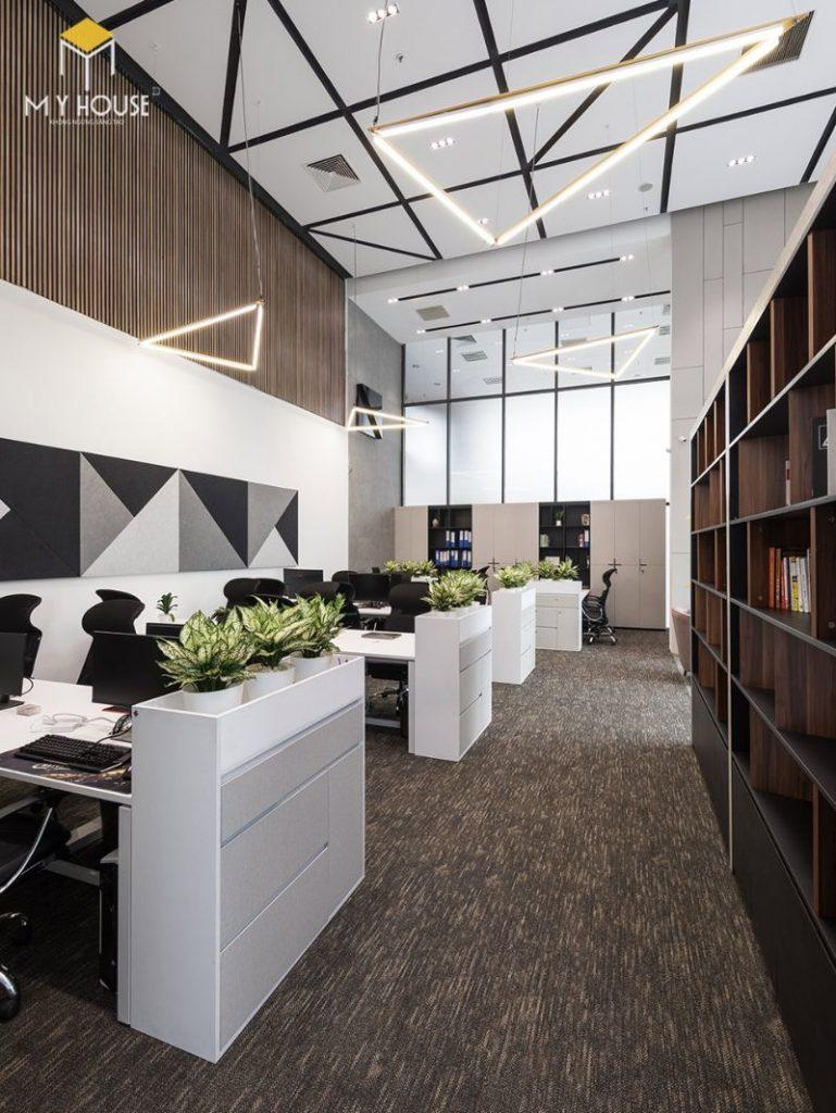 Thiết kế nội thất văn phòng mở - View 2