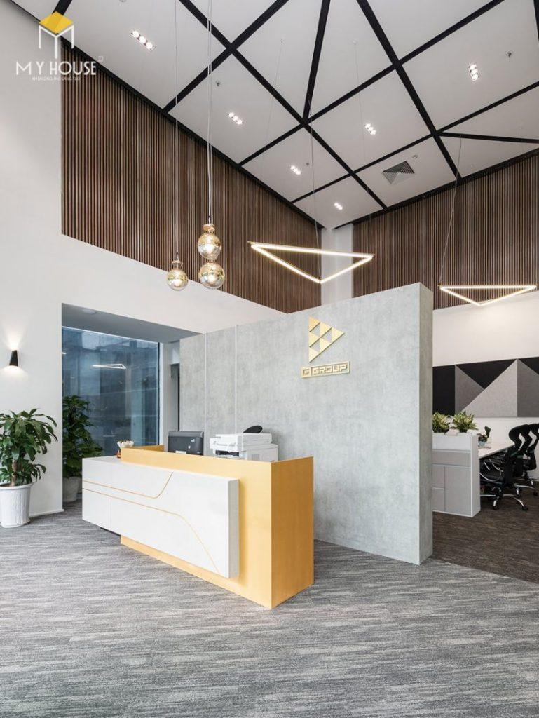 Thiết kế nội thất văn phòng mở - View 1