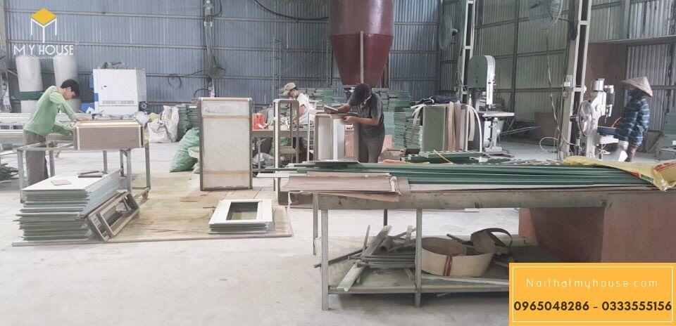 Quy mô nhà máy sản xuất nội thất My House - V2