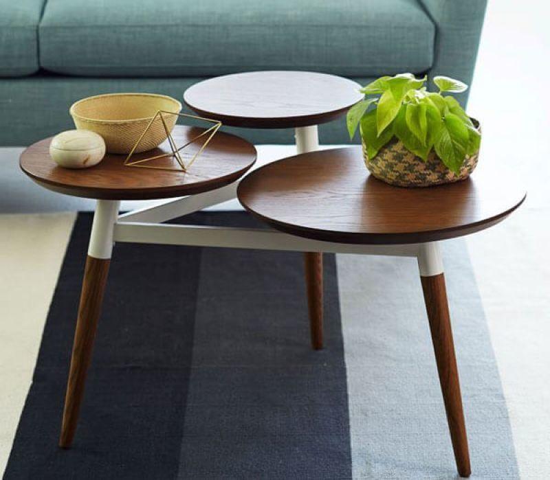 Bàn trà gỗ tự nhiên thiết kế đơn giản tinh tế - M9