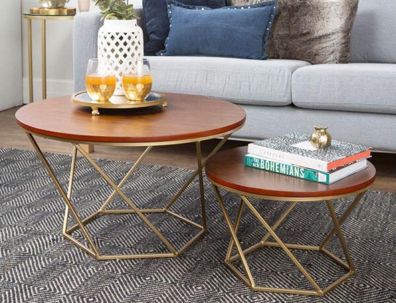 Bàn trà gỗ tự nhiên thiết kế đơn giản tinh tế - M2