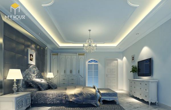 Trần thạch cao dành cho phòng ngủ master
