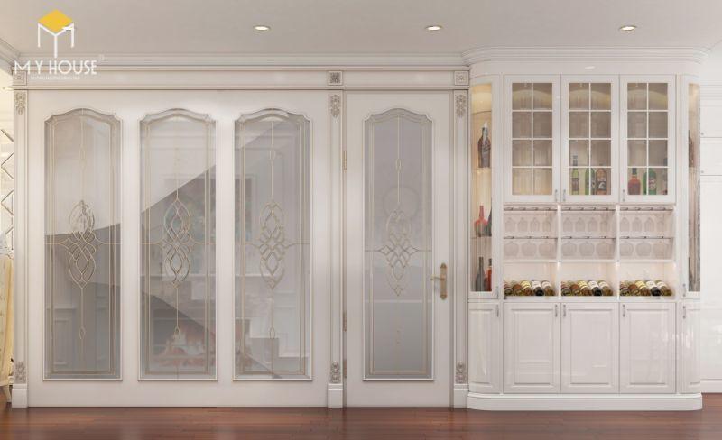 Mẫu thiết kế nội thất tân cổ điển đẹp 2021 - View 4