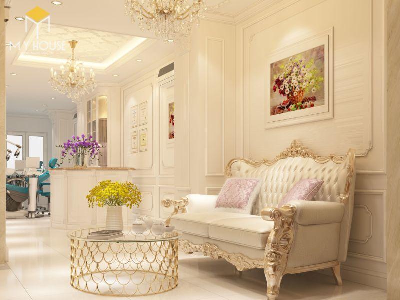 Mẫu thiết kế nội thất tân cổ điển đẹp 2021 - View 6