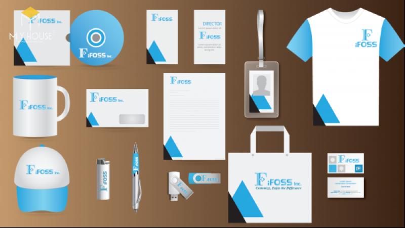Bộ nhận diện thương hiệu hoàn chỉnh bao gồm: tên thương hiệu, hình ảnh thiết kế logo, slogan, hồ sơ năng lực (profile) hay những bộ tài liệu bán hàng (bộ Sales kit), catalogue, brochure,…