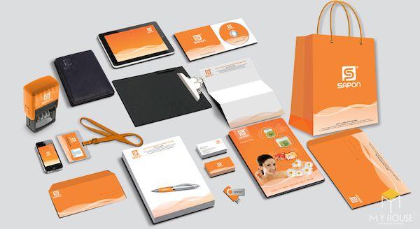 Bộ nhận diện thương hiệu Marketing