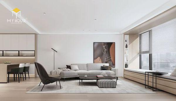 Mẫu decor phòng khách đẹp - Hình ảnh 1