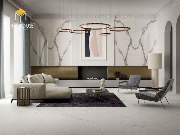 Mẫu decor phòng khách đẹp - Hình ảnh 3