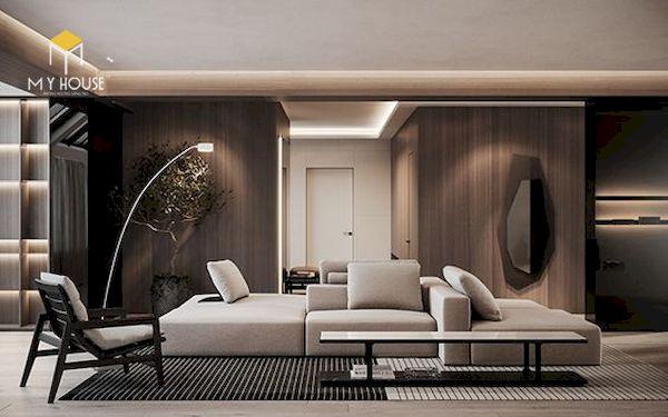 Mẫu decor phòng khách đẹp - Hình ảnh 4