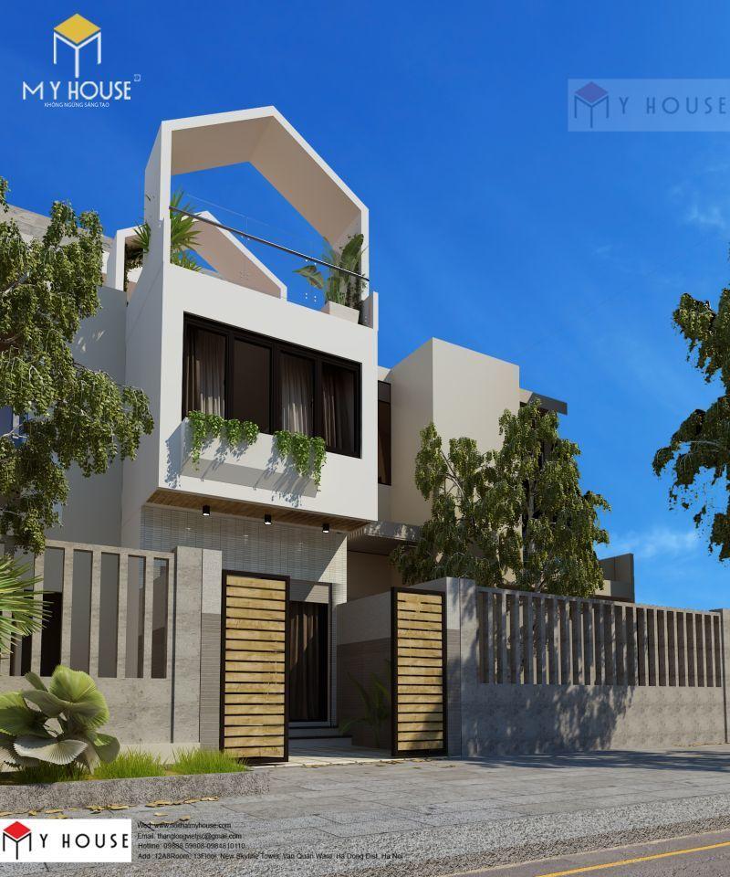 Mẫu thiết kế nhà đẹp sang trọng 2019 - M1