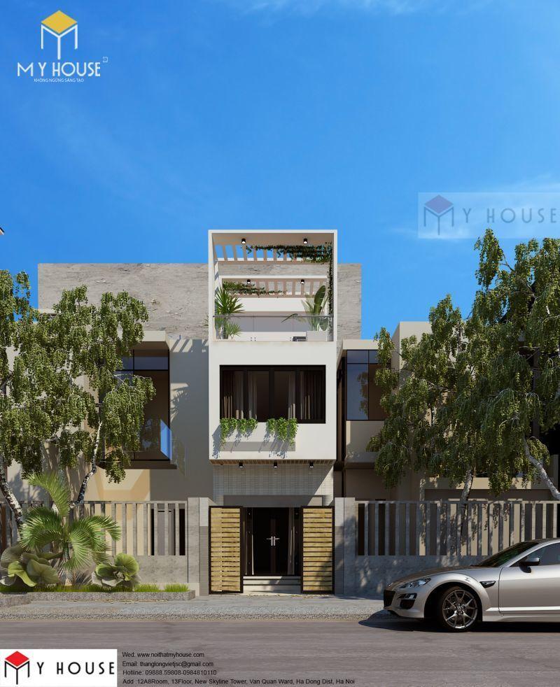 Mẫu thiết kế nhà đẹp sang trọng 2019 - M3