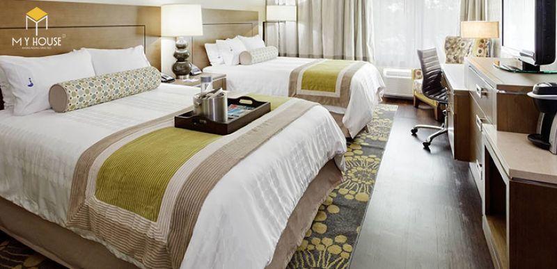 Mẫu giường ngủ khách sạn - M1