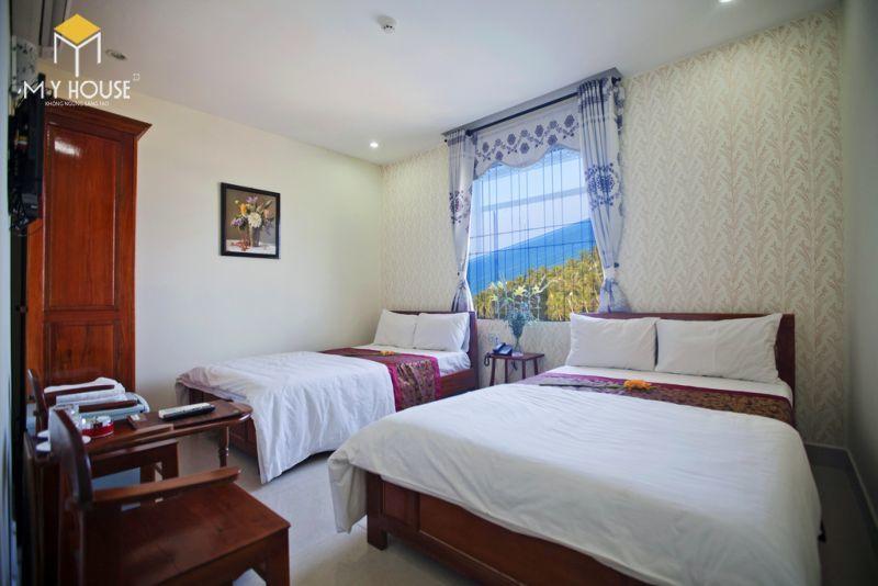 Mẫu giường ngủ khách sạn - M2