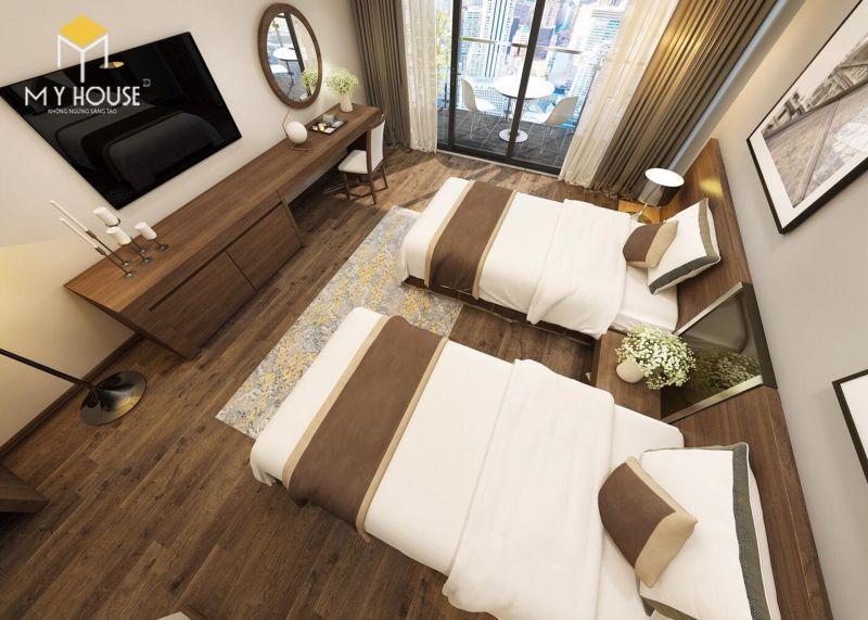 Giường ngủ khách sạn 3 sao