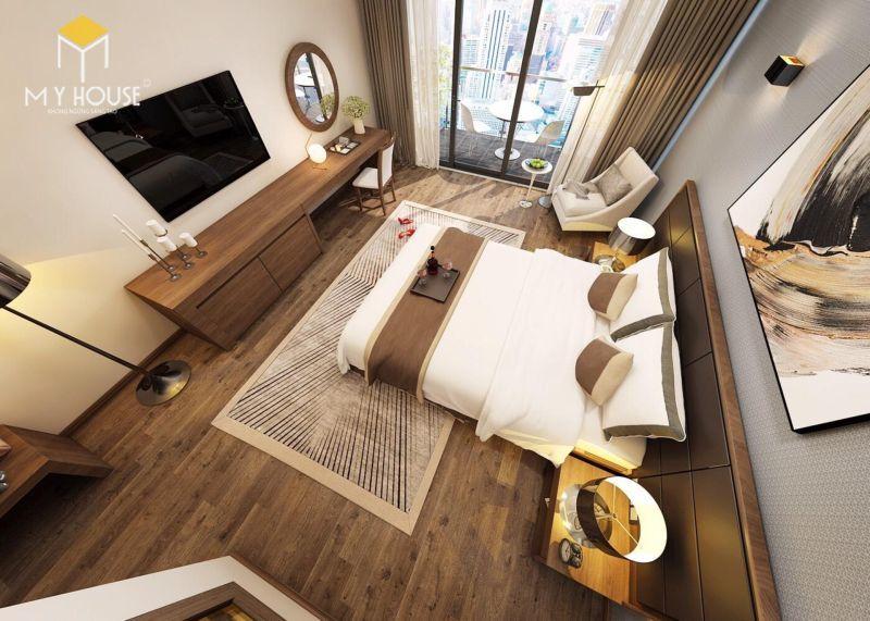 Mẫu giường ngủ khách sạn - M10