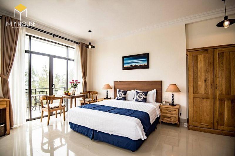 Mẫu giường ngủ khách sạn - M3
