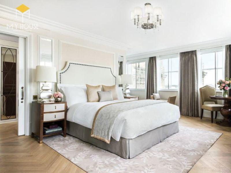 Mẫu giường ngủ khách sạn - M4