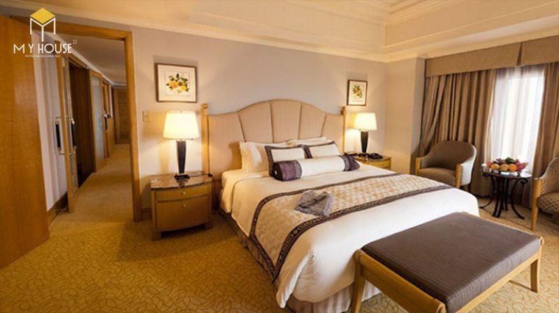Mẫu giường ngủ khách sạn - M5
