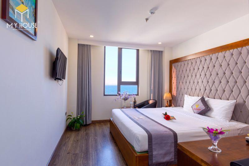 Mẫu giường ngủ khách sạn - M7
