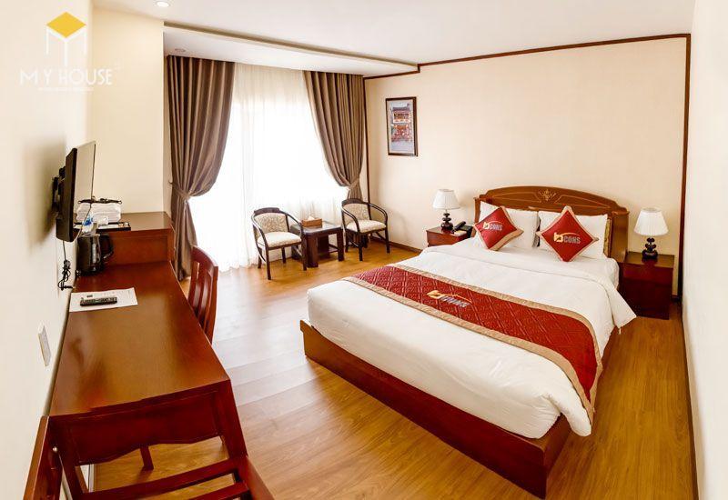 Mẫu giường ngủ khách sạn - M8
