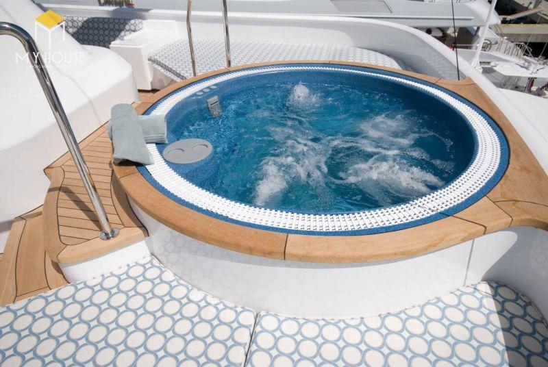 Công dụng của Jacuzzi đối với khách sạn, resort