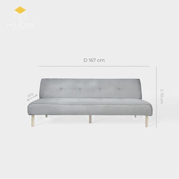 Kích thước sofa văng: R73xD167xC70