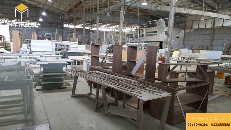 Quy mô xưởng sản xuất nội thất My House - View 5