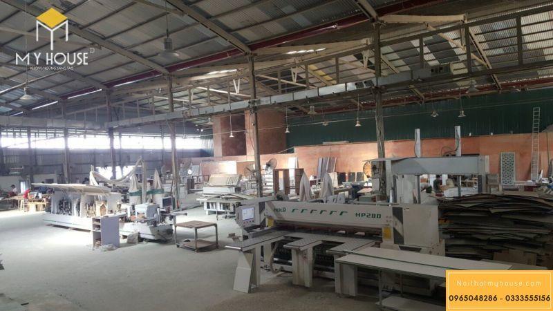 Quy mô xưởng sản xuất nội thất My House - View 1