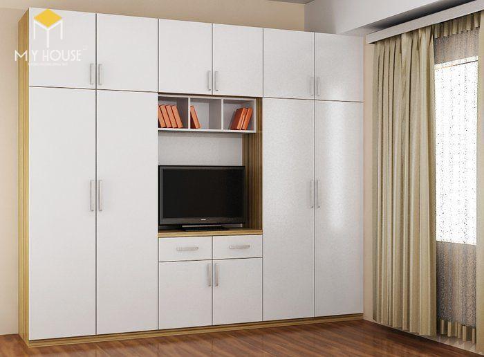 Tủ quần áo thiết kế hiện đại ấn tượng - M9