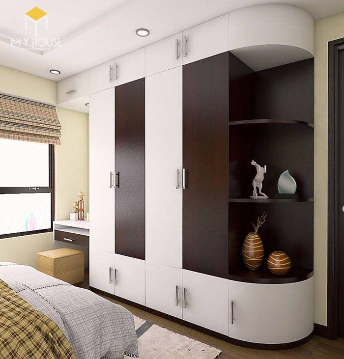 Tủ quần áo thiết kế hiện đại ấn tượng - M8